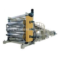 金韦尔PVC透明软/硬片挤出生产线