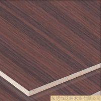 泛林 3-9厘细木工板 科技紫檀木皮饰面板8087 室内墙面装饰材料