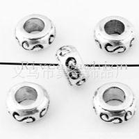 螺丝圆大孔珠饰品|古银小圆锌合金配件珠子|环保无铅合金珠子挂件