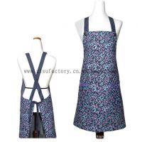 厂家定制 多款多色 全棉材质 简约工作围裙