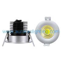 供应银色COB LED筒灯热卖 进口芯片,澳洲SAA认证 CE ROHS认证