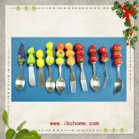 来图定制高质量树脂餐具 创意家居用品刀叉