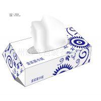 低价供应青花瓷纸巾盒 青花包装盒 酒店纸巾盒 广告纸巾盒