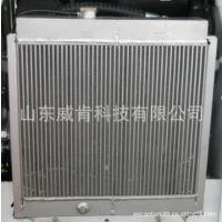 厂家直销滑移装载机配件  铝散热器