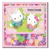 儿童节礼品  可爱卡通相框 摆台相架  KT猫相框 7寸相框相架批发