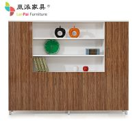 岚派-高档文件柜木质-办公文件柜资料柜-简约现代-办公组合书柜