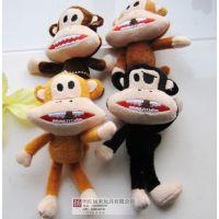 厂家批发现货宝宝猴小公仔 包包挂件 婚庆小礼品 创意促销礼品