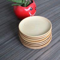 创意家居外贸出口木盘子 木质碟子 圆盘餐盘果盘