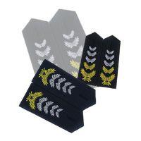 2011新款保安服套装肩章 保安制服肩章 保安春秋服肩章 批发