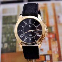 速卖通热销 时尚磨砂皮带手表 罗马字面时装表 石英手表批发