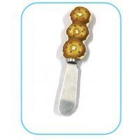 定制点心造型树脂手柄奶油刀 树脂工艺品礼品餐具 树脂手柄黄油刀
