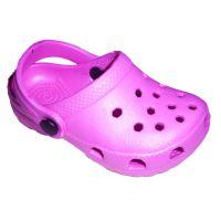 厂家供应 夏季儿童EVA花园洞洞拖鞋 可爱糖果色套趾平底休闲拖鞋