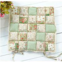 田园生活馒头坐垫加厚纯棉办公室椅子垫夏季透气可爱垫沙发垫
