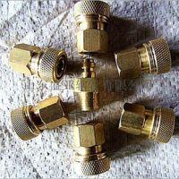 供应厂家直销8mm铜快接接头,M10*1外丝