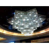 客厅卧室阳台水晶灯 吸顶水晶灯 八角水晶灯 酒店工程水晶灯
