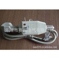 厂家供应阻燃材料10A不带线三插插头 220V漏电插头