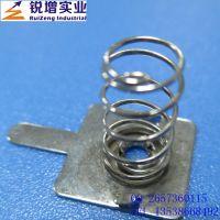铜材电池片弹簧优质供应商 东莞电池厂家0.8mm镀金电池片弹簧