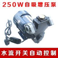 250W自来水管道增压泵家用自动自吸泵水泵管道加压泵显著改善压力