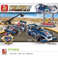 小鲁班积木 F1赛车组M38-B0355益智拼插积木玩具批发