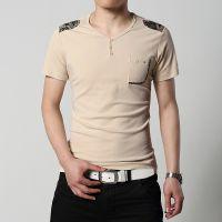 夏装 男士短袖T恤 男装韩版修身纯棉打底衫半袖潮t恤 男 短袖