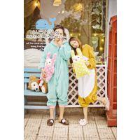 马戏团 可爱小象拉拉熊连体家居服 睡衣连体衣爱情公寓睡衣