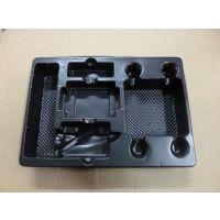 凯瑞康厂家供应手机座黑色ps吸塑盒 苹果手机导航座黑色吸塑盒