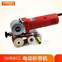 供应原装进口电动砂带机拉丝机抛光机多功能研磨机