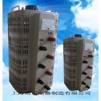 上海瑞云供应三相接触式调压器TSGC2-6KVA