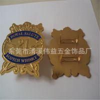箱包五金logo牌 标志铭牌标牌 包包皮具商标 金属东莞厂家定做