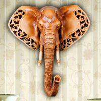 2014新款欧式树脂工艺大象壁挂高端创意礼品 家居墙壁挂饰装饰品