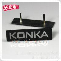优质工厂供应雕刻铝标牌 压铸铭牌加工 高光金属标牌 上海标牌