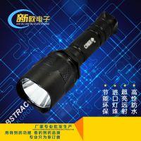 神火C11 铝合金充电手电筒 防身强光手电 led强光户外手电筒 批发