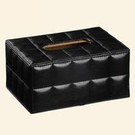 供应定制礼品包装包皮纸盒 卫生纸盒 皮盒 用品盒A2