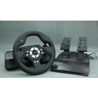 供应格威尔 霸道FT3995电脑游戏方向盘 游戏方向盘批发 电玩批发