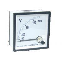乐清 DE-72 直流电压表 直流电流表 磁电系仪表 电压范围可选 5-500V