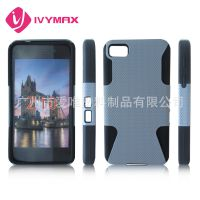 黑莓手机保护套 Z10手机保护套  BB10二合一手机保护壳 硅胶壳