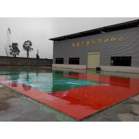 重庆塑胶篮球场篮球架塑胶EPDM颗粒3255标准工艺施工快捷