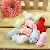 童袜批发 糖果色宝宝夏季丝袜 儿童实惠装糖果袜 婴儿糖果袜子