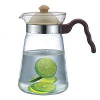 供应耐热玻璃花茶壶 直火水壶 热咖啡壶 高硼硅烧水壶