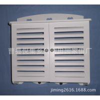 鲁明家具公司批发供应烤漆镂空白色木制电表箱 室内装饰配电箱