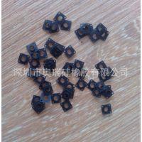 轻触开关硅胶密封垫,深圳公明硅胶制品厂专业生产供应!