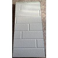 供应合肥轻钢房屋金属压花复合一体保温板此板材质轻安装便捷花砖纹,木纹,大理石纹,布纹应有尽有