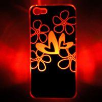 新款带开关iPhone5/5S手机来电闪 七彩LED CASE 闪光壳 一件代发
