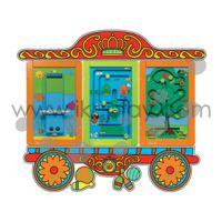 马戏团 嘉兴爱可信 儿童区玩具 形象生动 爱乐游配件 墙面游戏