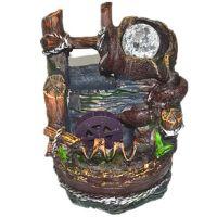 一件代发货厂家直供假山流水新款热卖工艺品摆设风水轮招财摆件