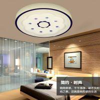 正品现代简约圆形卧室LED亚克力吸顶灯 卫生间书房阳台家居书房灯