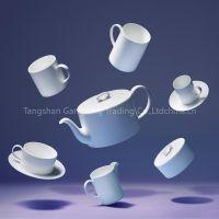 white porcelain, plate, dinner set