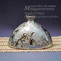 供应精美镀银花纹花瓶 电镀金银花瓶  乔迁礼物 结婚礼品 16060#