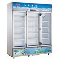 供应白雪SC-800F饮料酒水展示柜 白雪三门冷藏柜