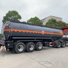 硫酸腐蚀品罐式运输半挂车
